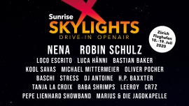 Sunrise Skylights Drive-In Openair Zürich-Flughafen / Parking P17 Kloten Tickets