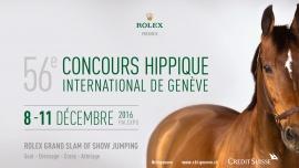 56e Concours Hippique International de Genève Palexpo Grand-Saconnex Tickets