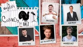 Comedy im Balz in English Balz Klub Basel Biglietti