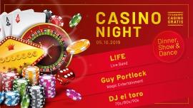 Casino Night Dinner/Show & Dance Altes Kraftwerk Basel Biglietti