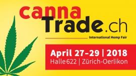 CannaTrade 2018 - Hanfmesse - Tagespass Samstag Halle 622 Zürich Tickets