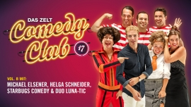 DAS ZELT: Comedy Club 17 Diverse Locations Diverse Orte Tickets