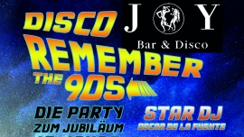Disco Joy Remember the 90s Granolissimo Sursee Sursee Biglietti