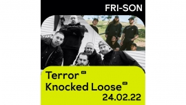 Terror (US) + Knocked Loose (US) Fri-Son Fribourg Billets