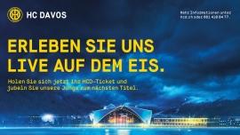 Meisterschaft 2016/2017: HCD Eisstadion Davos Platz Tickets