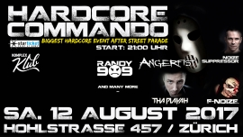 Hardcore Commando Komplex Klub Zürich Tickets