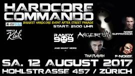 Hardcore Commando Komplex Klub Zürich Tickets