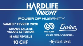 Hardlife Night 2020 Complexe Communal Villars-le-Terroir Billets