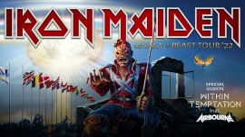 Iron Maiden, Within Temptation, Airborne Estadio Nacional Oeiras Tickets