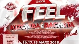 Kizomba & Bachata Festival 2018 Bananenreiferei & Tanzwerk 101 Zürich Tickets