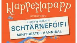 """Schtärnefoifi feat. Minitheater Hannibal """"es war einmal..."""" Volkshaus Zürich Biglietti"""