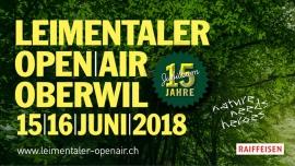 Leimentaler OpenAir 2018 Bruderholzhof Oberwil BL Biglietti