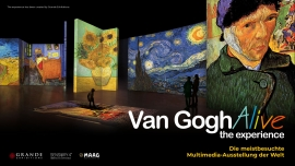 Van Gogh Alive - the experience MAAG Halle Zürich Tickets