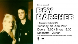 Boy Harsher (USA) Mascotte Zürich Tickets