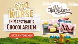 Maestrani's Chocolarium Süsse Kursangebote Maestrani's Chocolarium Flawil bei St. Gallen Biglietti