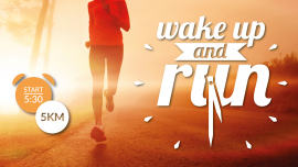 Wake up and Run 2020 - Basel Theodorskirchpl. Basel Tickets