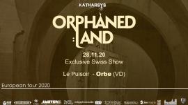 Orphaned Land 30th anniversary tour Le Puisoir Orbe Biglietti