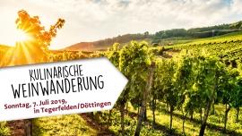 Kulinarische Weinwanderung Rebberg Döttingen Tickets