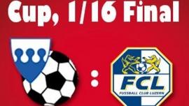 Schweizer Cup - 1/16-Final: SC Buochs - FC Luzern Sportplatz Seefeld Buochs Tickets