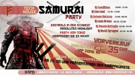 Samurai Party X-TRA, Limmatstr. 118 Zürich Tickets