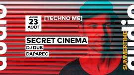 Techno Me // Secret Cinema - DJ Dub - Daparec Audio Club Genève Tickets