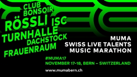 Swiss Live Talents Various Clubs Bern Tickets