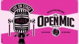 The Open Mic Show Plaza Zürich Tickets