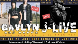 International HipHop Weekend Gavlyn / J Live Freiraum Widnau Widnau Tickets