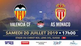 AS Monaco vs Valence CF Stade du Christ-Roi Lens Tickets