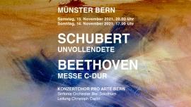 Beethoven Messe C-Dur, Schubert Unvollendete Berner Münster Bern Biglietti