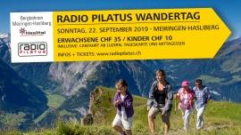 Radio Pilatus Wandertag Meiringen-Hasliberg Coppet Biglietti