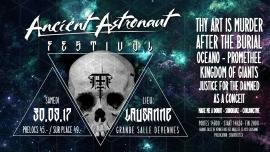 Ancient Astronaut Festival Grande Salle de Vennes Lausanne Billets
