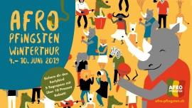 Afro-Pfingsten 2019: Earlybird 5-Tagespass DO - MO Grosse Reithalle Winterthur Tickets