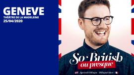 Paul Taylor Théâtre de la Madeleine Genève Biglietti