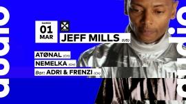 Jeff Mills - Atønal - Nemelka  - Adri & Frenzi Audio Club Genève Biglietti