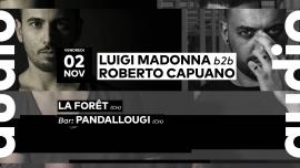 Luigi Madonna b2b Roberto Capuano Audio Club Genève Tickets