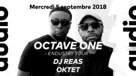 Octave One - Reas - Oktet Audio Club Genève Biglietti