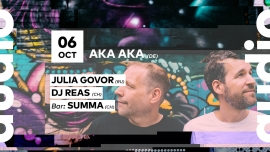 Aka Aka - Julia Govor Audio Club Genève Tickets
