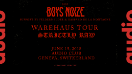Boys Noize Audio Club Genève Billets