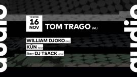 Tom Trago - William Djoko - Kun Audio Club Genève Biglietti
