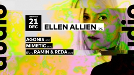 Ellen Allien - Agonis - Mimetic Audio Club Genève Biglietti