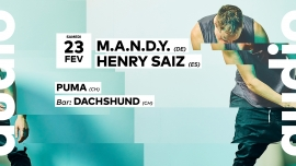 M.A.N.D.Y. Audio Club Genève Biglietti