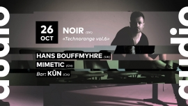 Technorange #6: Mimetic Audio Club Genève Tickets
