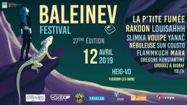 Baleinev Festival 2019 (HEIG-VD) Yverdon-les-Bains Billets