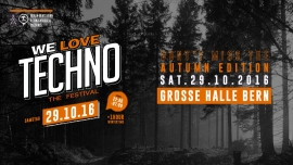 We Love Techno the festival Reitschule Bern, Grosse Halle Bern Tickets