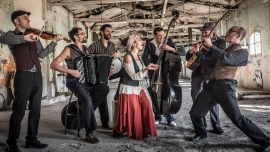 Barcelona Gipsy Balkan Orchestra Turnhalle im PROGR Bern Billets