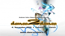 Dance2Dance 2016 Theater 11 Zürich Tickets
