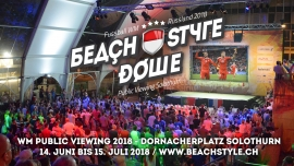 Beach Style Dome Public Viewing Solothurn Dornacherplatz Solothurn Tickets