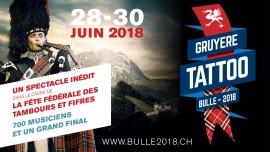 Fête Fédérale des Tambours et Fifres - Bulle 2018 Centre ville de Bulle Bulle Biglietti