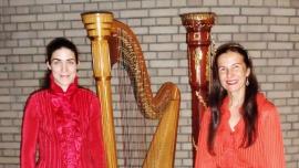 Weihnachtskonzert - Konzert mit 2 Harfen Burgbachkeller Zug Tickets